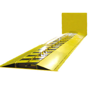 Yellow Motorized Traffic Spikes